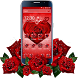 Red Rose Petal Theme by Launcher Fantasy