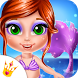 Baby Mermaid Beauty Salon - Makeup Games for Girls