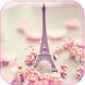 Paris Tower Theme Pink Love by Fashion Themes Studio