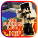 The floor is Lava New maps for Minecraft PE