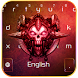 Death Skull Keyboard Theme by Super Keyboard Theme