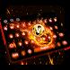Fire Football Keyboard by Keyboard Tema Designer