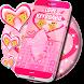 Pink Love Keyboard Free by Keypad Design Studio