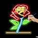 Draw Glow Flower : Learn To Draw Glow Flower by Green.Studio