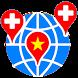 Benh Vien Viet (ban do maps) by Duc Nguyen Minh BioMedicalGroup