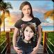 Girl T-Shirt Photo Frame by Destiny Dream World