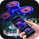 Fidget Spinner Neon Space Tech Theme by Creative Design Theme