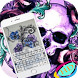ghost for skull theme keyboard by SEPLABI.COM
