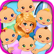 Sextuplets Newborn Baby Birth - Pregnancy Games by Beansprites LLC