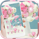 Pink Rose Theme for Launcher Rose Love by Beauty Die Marker