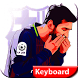 messi keyboard themes for barcelone 2018 by Sweet app