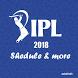 IPL schedule 2018 by mindlabz