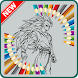 Best Coloring Game for Kids of Super Saiyan