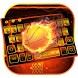 Basketball Fire Keyboard Theme by NeoStorm We Heart it Studio