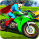 Superheroes Bike Stunt Racing Games by Let's Game