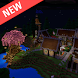 Fantasy Town map for Minecraft by RedLight Studio