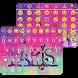 Galaxy Paris KK Emoji Keyboard by Keyboard themes