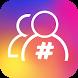 Tags followers for Instagram by Winnie Apps Studio