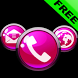 ICON PACK PINK GLOSSY BUTTONS by Tak Team Studio
