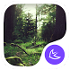 Green Fairy Tale Forest theme & wallpapers by PTeam