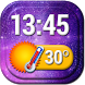 Best Digital Clock Widget by Super Widgets