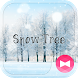 Winter Wallpaper Snow Tree Theme by +HOME by Ateam