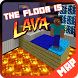 The Floor is Lava map for MCPE Minecraft by Moun Studios