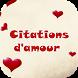 Sms D'amour et citations by Funny APP