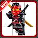 Puzzle Games of Lego Ninjago Toys