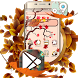 Autumn Maple Leaf Theme by Launcher Fantasy