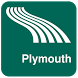 Plymouth Map offline by iniCall.com