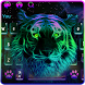 Neon Tiger Keyboard Theme