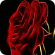 Shining rose live wallpaper by Tuneatpa
