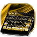 Gold and Black Luxury Keyboard