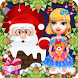 Crazy Santa Claus Give Gifts by lemonbab