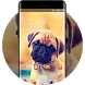 Cute Puppy Dog Live Wallpaper kawaii new icon pack by Mobo Theme Apps Team