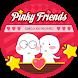 Pinky Friends Theme&Emoji Keyboard by happy emoji keyboard theme studio