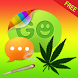 Theme Weed Ganja for GO SMS by Themes For Droid