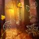 Fall Golden Diamond Leaves by HiTechPilot