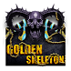 Skull Gold Gem Darkness Violence Glow Launcher by Hello Keyboard Theme