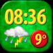 Funny Clock Weather Widget by Super Widgets