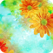 Colorful Flower Theme Android by Best theme store