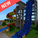 Water Park map for Minecraft by RedLight Studio