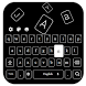 Invisible Black Keyboard by Keyboard Theme Factory