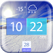 Cool Weather and Clock Widget by Cicmilic Soft