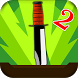 Flip Knife Game 2 - Throw Knife Simulator by RBGA Canvas