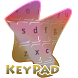 Pastel rain drops Keypad Cover by Alpha Themes