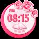Flowers Clock Weather Widget by Super Widgets