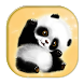 Cute Panda Keyboard Theme by live wallpaper collection