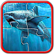 Sharks Jigsaw Puzzles Game kid by KidsPlayApps